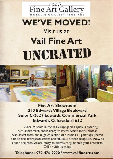 Vail Fine Art Uncrated